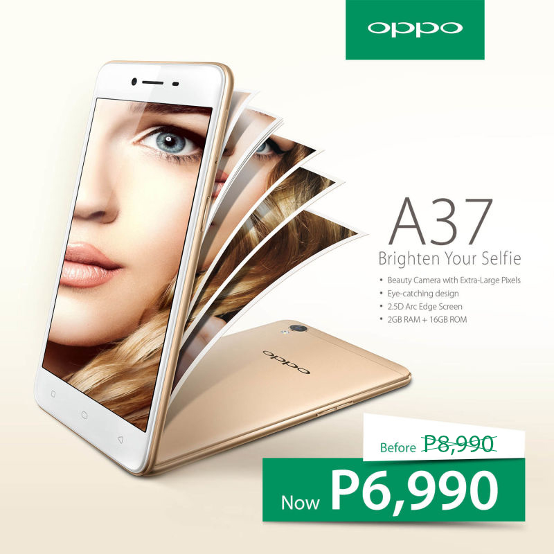 Discounted OPPO A37