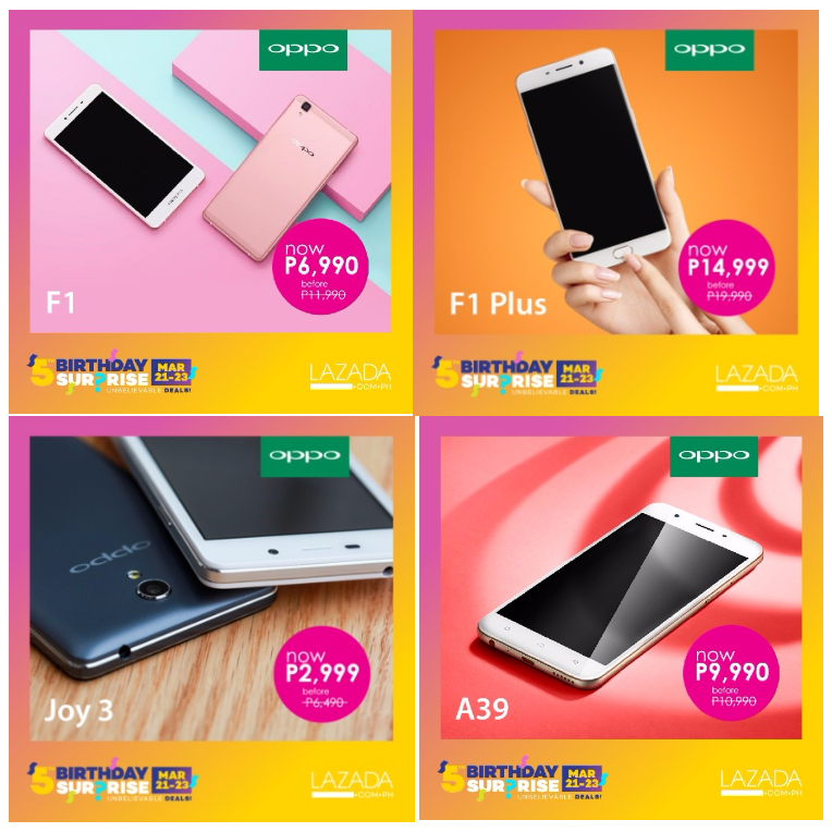timeless design ea1a8 c90e7 Oppo Joins Lazada's Anniversary Sale... - TipsGeeks