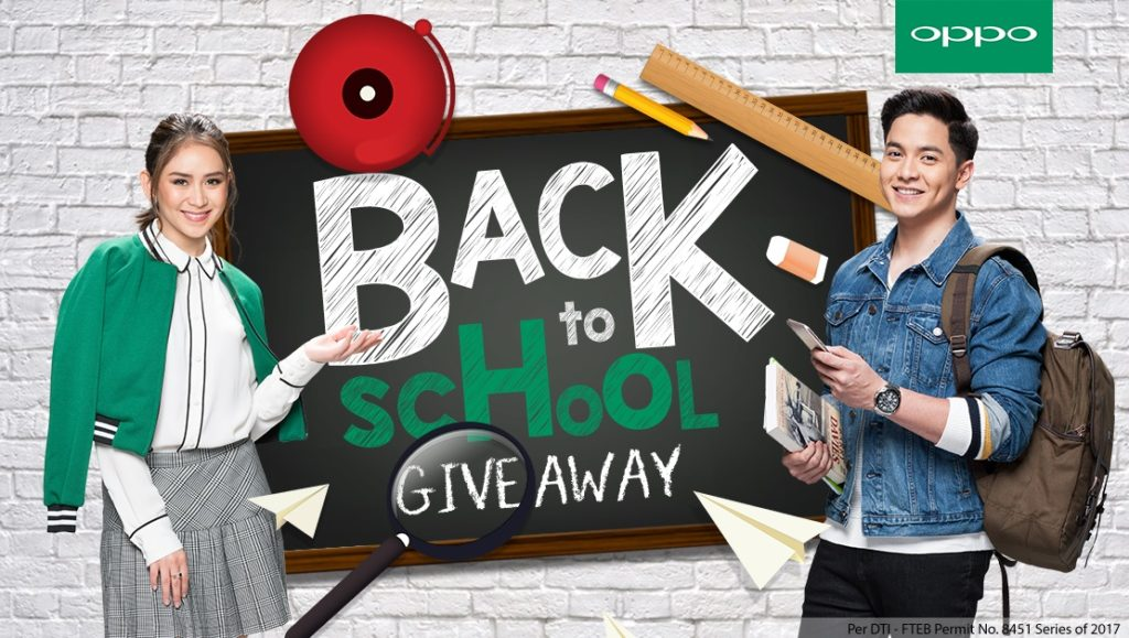 OPPO Back To School Giveaway