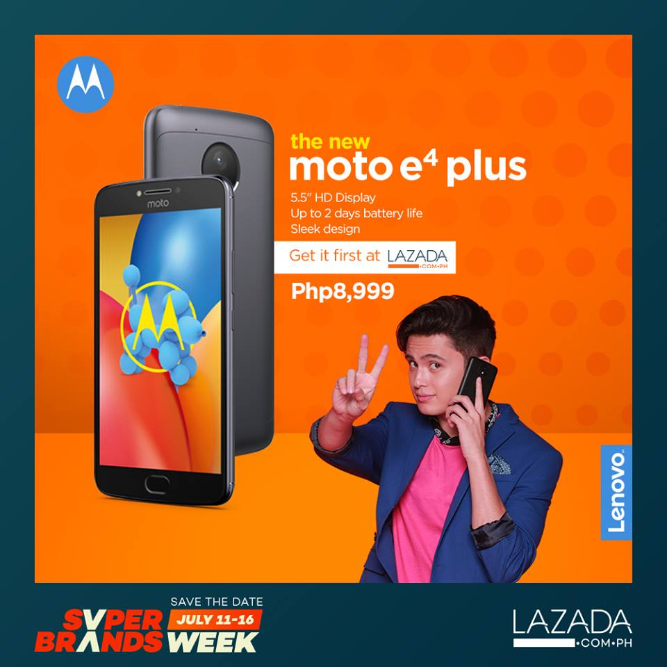 Moto E4 Plus at Lazada
