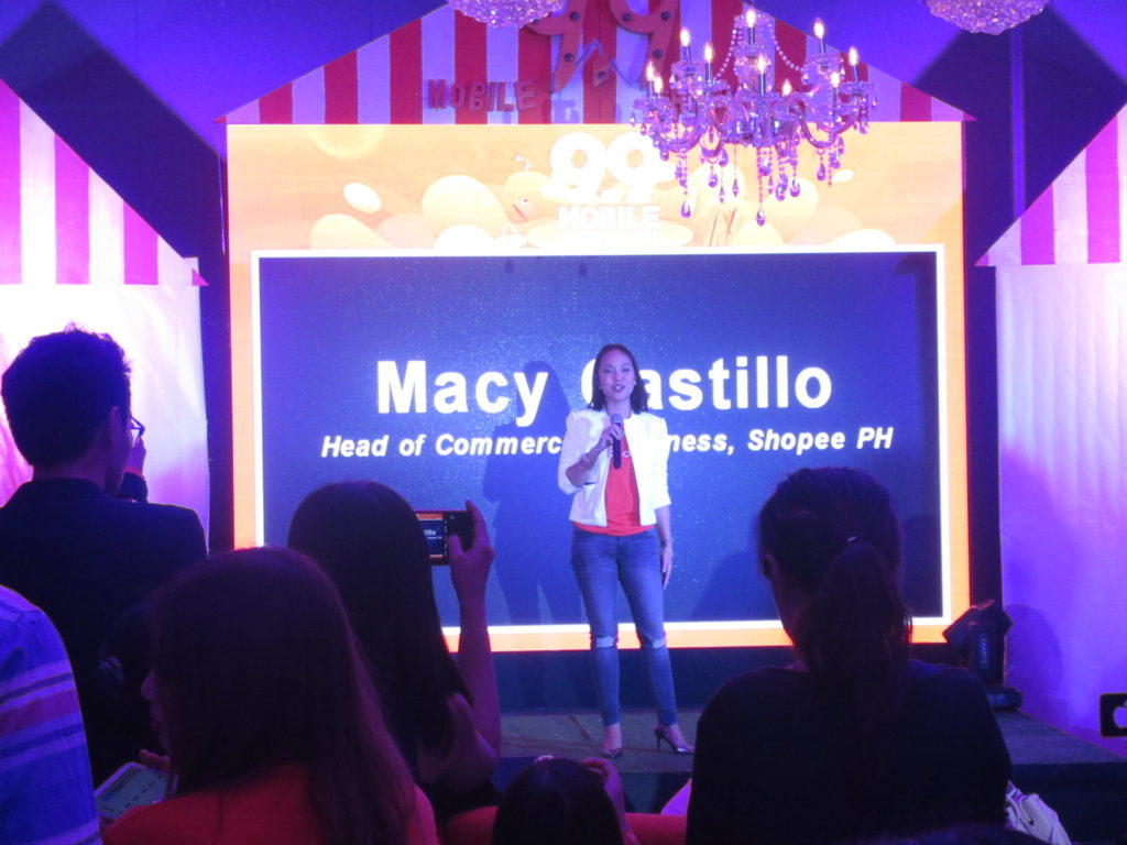 Macy Castillo, Head of Commercial Business at Shopee.