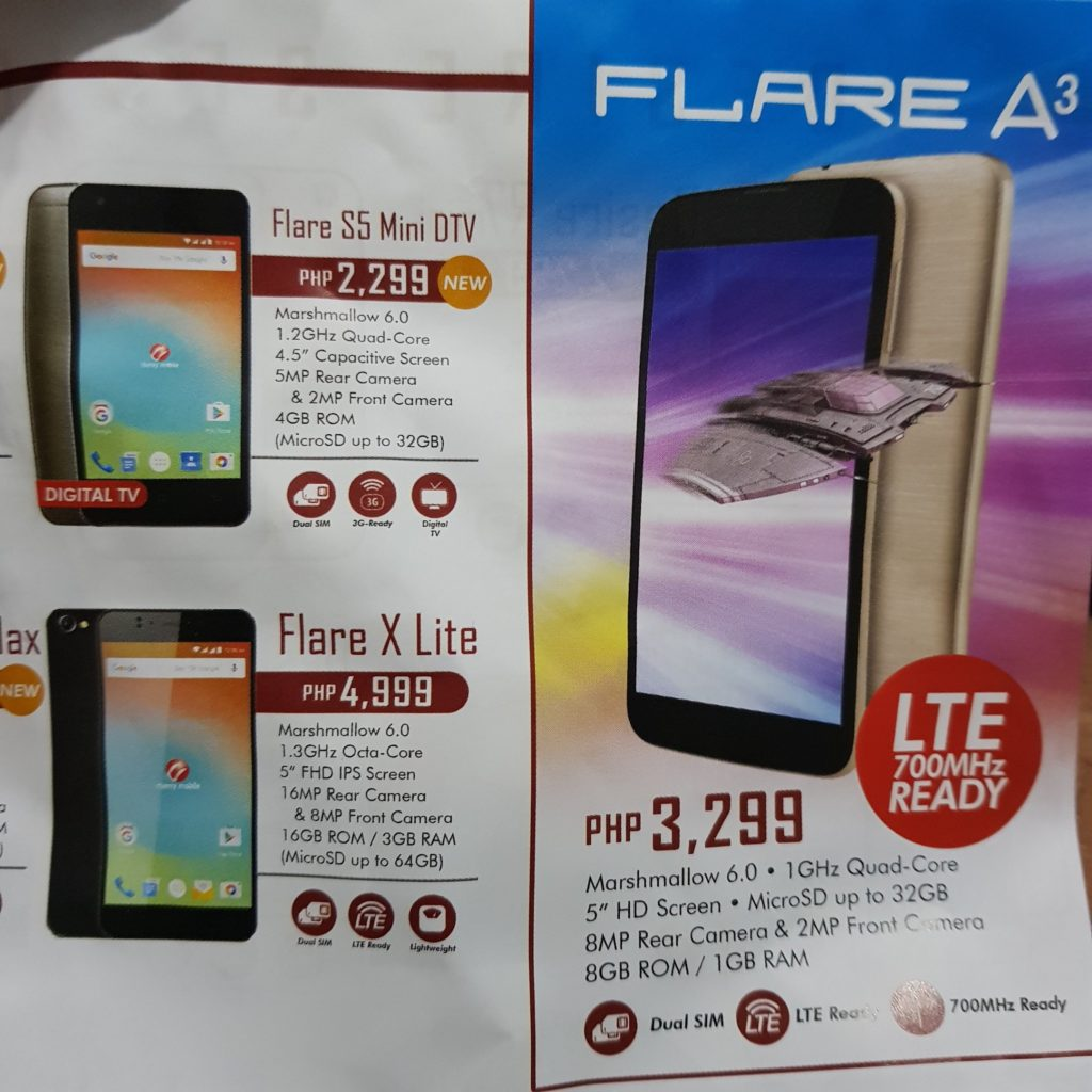 Cherry Mobile Flare Series