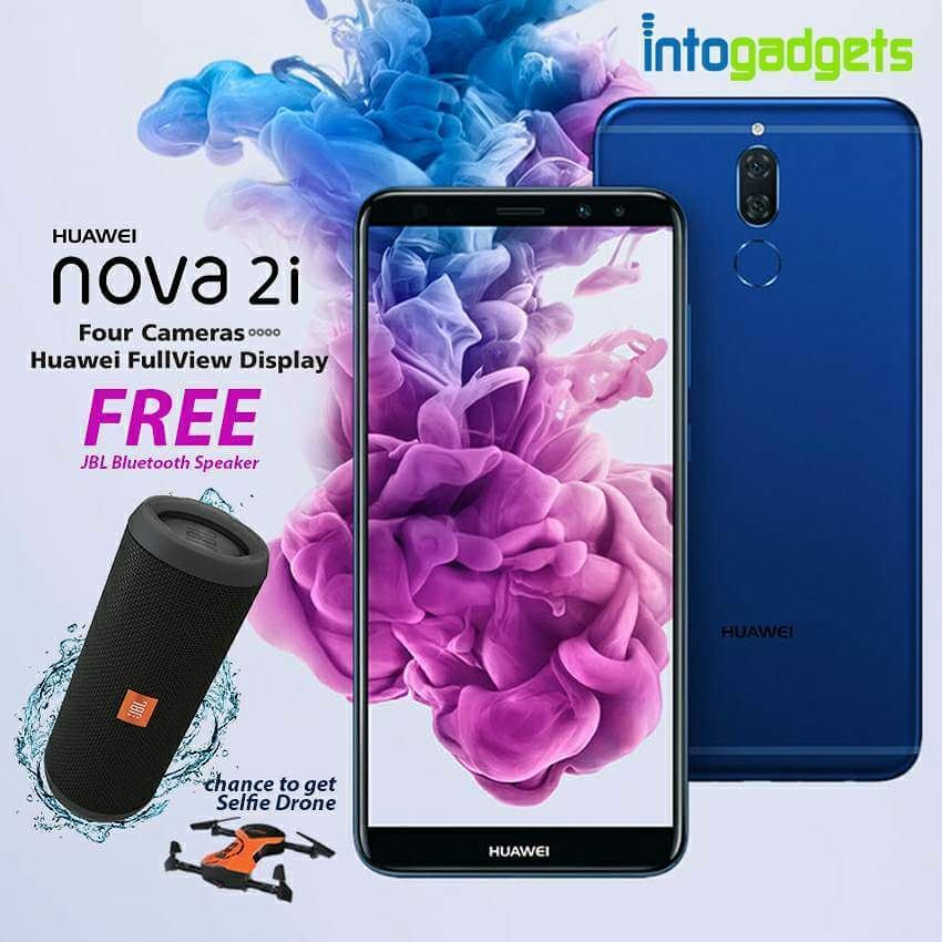 Get the Huawei Nova 2i at Intogadgets store!