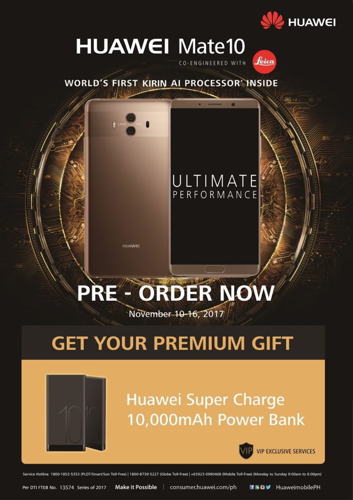 Mate 10 Pre-Order Announcement