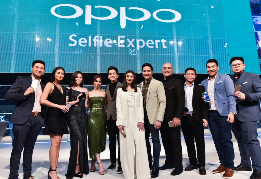OPPO PH Executives and Influencers