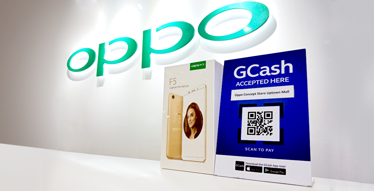 OPPO GCash Scan To Pay Partnership