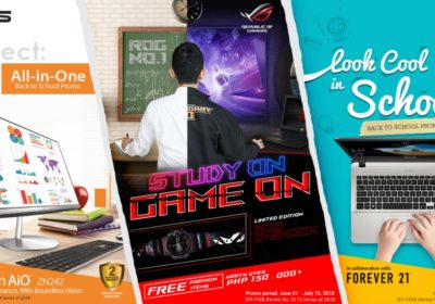 ASUS and ROG Back To School 2018