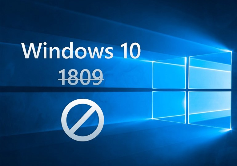 update to windows 10 1809