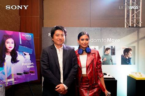 gabbi garcia for sony extra bass