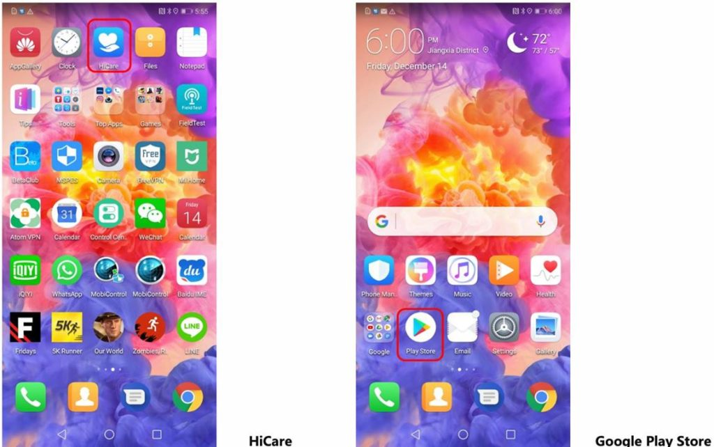 Quick updates and upgrades via HiCare on your Huawei device - TipsGeeks