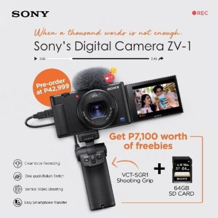 Sony Digital Camera ZV-1 Photo